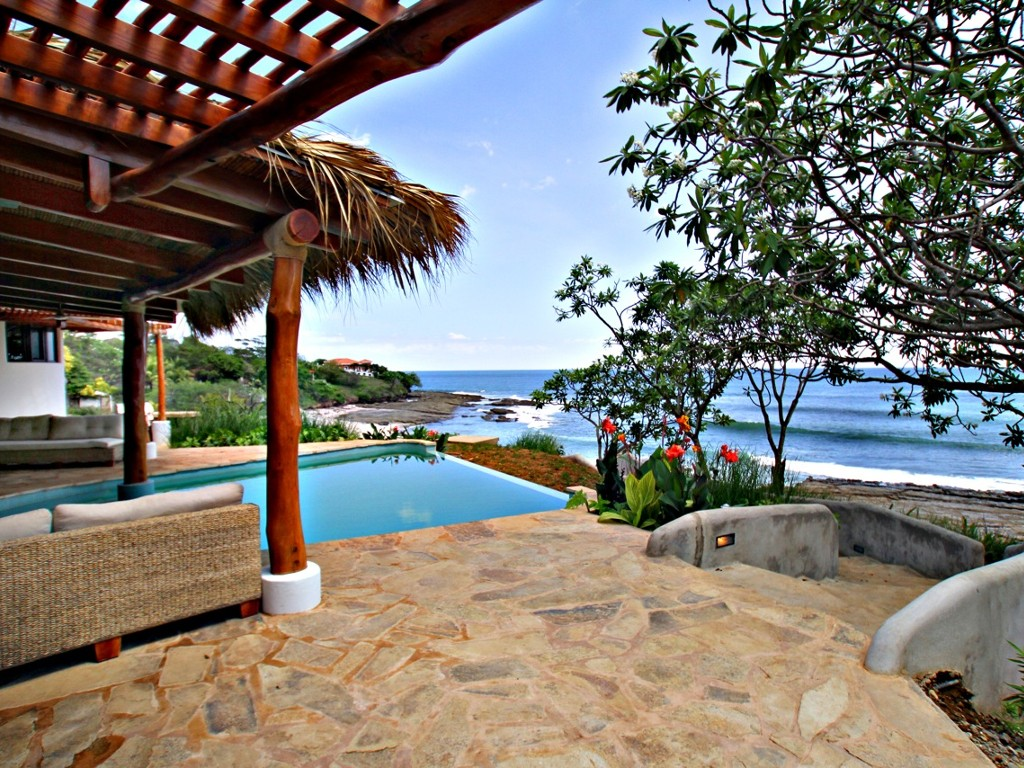 nicaragua surf vacation house